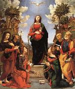 The Immaculate Conception and Six.Saints