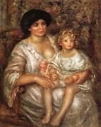 Madame Thurneysen and her Daughter