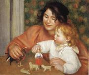 Child with Toys(Gabrielle and Jean)