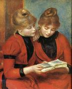 Pierre Renoir Young Girls Reading