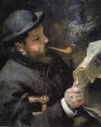 Chaude Monet Reading
