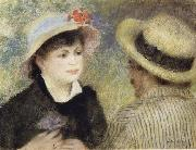 Boating Couple (Aline Charigot and Renoir)