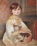 Child with Cat (Julie Manet)