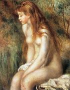 Pierre Renoir Young Girl Bathing