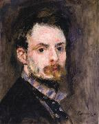 Pierre Renoir Self-Portrait oil painting reproduction