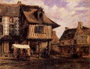 A Market in Normandy