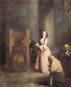 Pietro Longhi The Confession oil painting picture wholesale