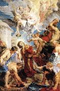 RUBENS, Pieter Pauwel The Martyrdom of St Stephen oil painting reproduction