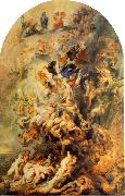 RUBENS, Pieter Pauwel Small Last Judgement oil painting reproduction