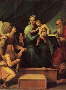 Raphael The Madonna of the Fish oil painting picture wholesale