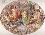 Richard  Dadd Contradiction:Oberon and Titania oil painting picture wholesale
