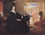 Richard Redgrave,RA The Governess:she Sees no Kind Domestic Visage Near oil painting artist