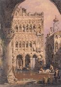 Samuel Prout C'a d'Oro,Venice oil painting reproduction