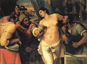 The Martyrdom of St.Agatha