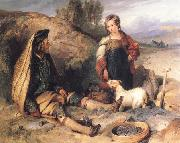 Sir Edwin Landseer The Stonebreaker and his Daughter