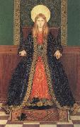 Thomas Cooper Gotch The Child Enthroned oil painting artist