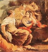 Parnassus or Apollo and the Muses (detail)