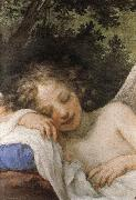 Volterrano Sleeping Cupid oil painting reproduction