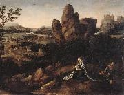 A landscape with the rest on the Flight into egypt