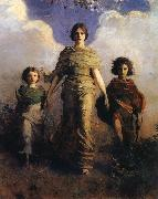 Abbott Handerson Thayer A Virgin oil painting