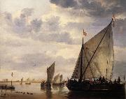 Aelbert Cuyp River scene oil painting reproduction