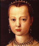 Agnolo Bronzino Portrait of Maria de'Medici oil painting reproduction