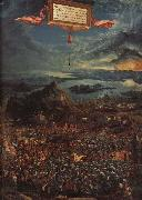 Albrecht Altdorfer The Battle of Issus oil painting reproduction