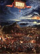 Albrecht Altdorfer Victory of Alexander over Darius,King of the Persians oil painting reproduction