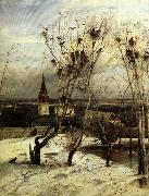 Aleksei Savrasov The Crows are Back oil painting reproduction