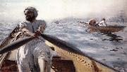 Anders Zorn Kaikroddare oil painting picture wholesale