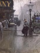 Anders Zorn Impressions de Londres oil painting reproduction