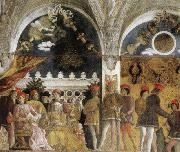 Andrea Mantegna Family and Court of Ludovico Gonzaga oil painting picture wholesale