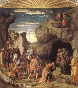Andrea Mantegna Adoration of the Magi oil painting picture wholesale