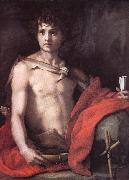 Andrea del Sarto St John the Baptist oil painting reproduction