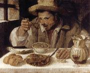 Annibale Carracci The Bean Eater oil painting artist