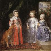 Anthony Van Dyck Portrait of the Children of Charles I of England