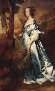 Anthony Van Dyck The Countess of clanbrassil oil painting reproduction