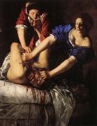 Artemisia gentileschi Judith Beheading Holofernes oil painting reproduction