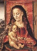 BERRUGUETE, Pedro Virgin and Child oil painting reproduction