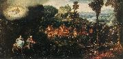 BLES, Herri met de The Flight into Egypt oil painting reproduction