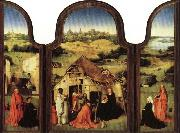 BOSCH, Hieronymus Triptych of the Epiphany oil painting reproduction