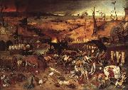 BRUEGEL, Pieter the Elder Triumph of Death oil painting reproduction