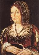 BURGOS, Juan de Lady with a Hare oil painting