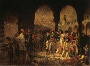 Napoleon Visiting the Plague Vicims at jaffa,March 11.1799