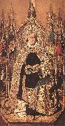 Bartolome Bermejo St Dominic Enthroned in Glory oil painting reproduction