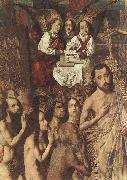 Bartolome Bermejo Christ Leading the Patriarchs to the Paradise (detail) oil painting reproduction