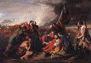 Benjamin West The Death of General Wolfe oil painting reproduction