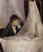 Berthe Morisot The Crib oil painting reproduction