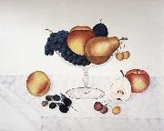 Cady Emma Jane Fruit in a Glass Compote oil painting