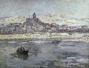 Vetheuil in winter
